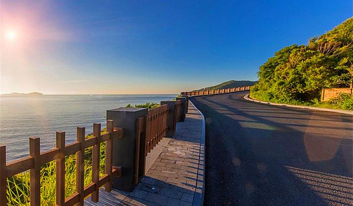 海南最美的滨海旅游公路两年后将在陵水县投入使用