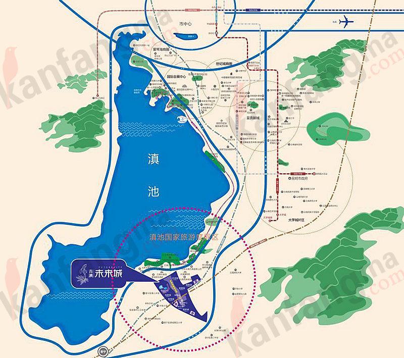 大理新区规划图